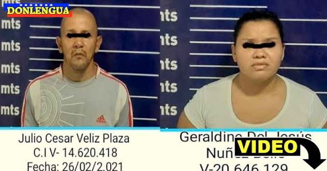 Pareja detenida en Monagas por castigar a sus hijos amarrándolos y golpeándolos con cables