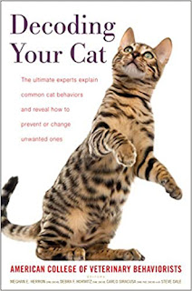 Cover of Decoding Your Cat, one of the books on Zazie Todd's summer reading list