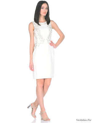 vestidos blancos para playa