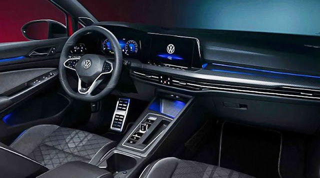 vw-golf-8-interior-front-seats-infotainment-system-and-steering-wheel