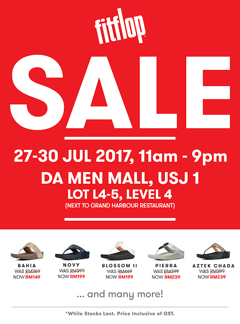 FitFlop Malaysia Sale Discounted Price Offer Promo