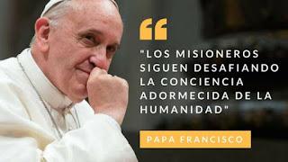 Papa Francisco y los misioneros, Domund 2019, Obras Misionales Pontificias