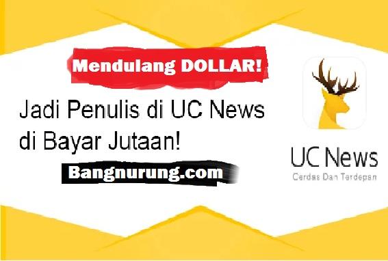 Selalu Ditolak Adsense? Beralihlah Menjadi Penulis Di UC News!