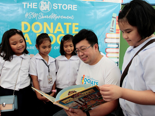 DONATE-A-BOOK, SHARE THE GIFT OF KNOWLEDGE WITH THE SM STORE