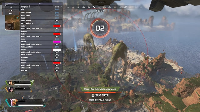 Download Cheat Apex Legends 23 April 2020 Latest Update and Anti Banned Free.