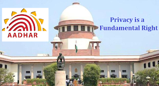 Right to privacy is a Fundamental Right: SC