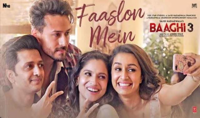 फासलों में Faaslon Mein – Baaghi 3