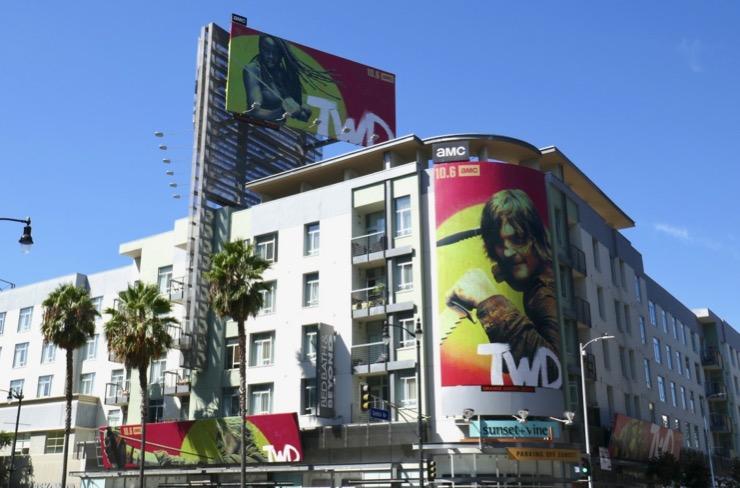 Walking Dead season 10 billboards
