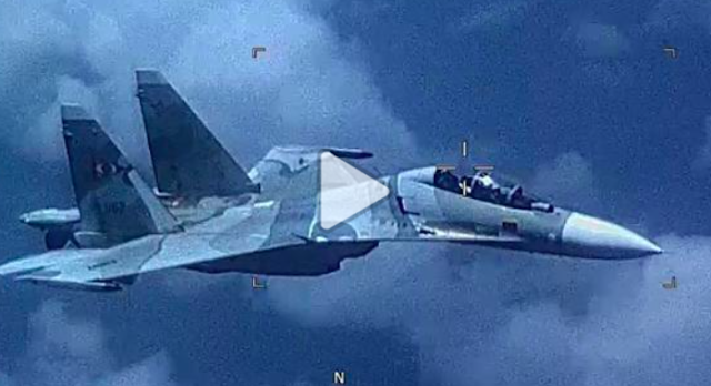 US military says Venezuela fighter jet made an 'unsafe' approach to US aircraft