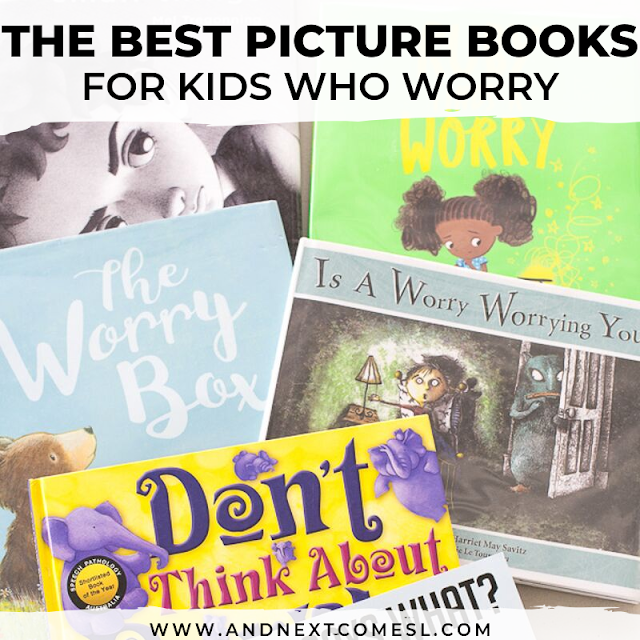 Children's books on anxiety and worrying