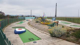 Drift Park Crazy Golf in Rhyl