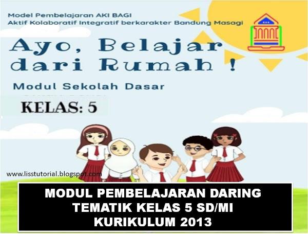 Modul Pembelajaran Daring Tematik Kelas 5 SD/MI Kurikulum 2013