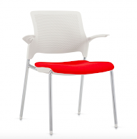 stream chair with upholstered seat