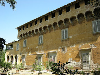 The Villa Medici at Careggi, outside Florence, where Cosimo's life began and ended