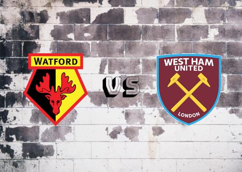 Watford vs West Ham United  Resumen
