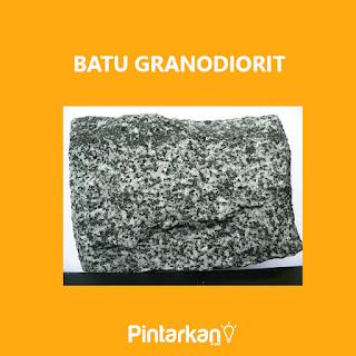 Gambar Batu Granodiorit