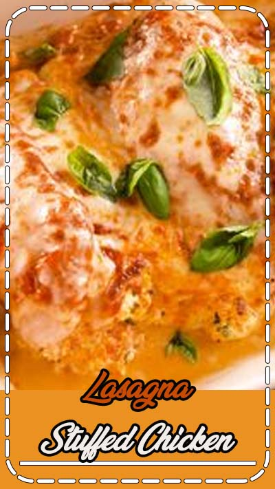 The best part of traditional lasagna isn't the pasta—it's the ricotta filling. And that creamy cheese situation happens to taste incredible when stuffed into chicken breasts with marinara sauce. Whether you're looking for low-carb dinner ideas or not, this recipe's a real winner. Get the recipe at Delish.com. #delish #easy #recipe #ricotta #chicken #lowcarb #lasagna #stuffed #marinara #baked