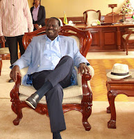 RAILA is a master in rigging and pointing fingers at others! See how he was caught red handed by IEBC