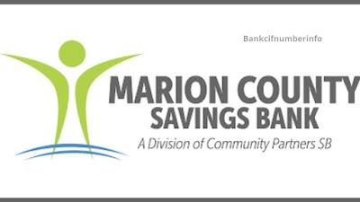 Marion County savings bank