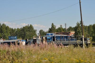 Кораблик на трассе возле Челябинска