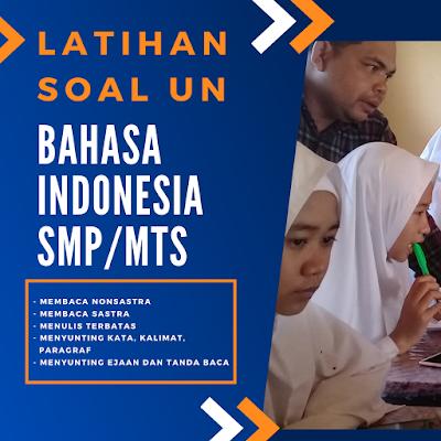 unbk bahasa indonesia smp-mts