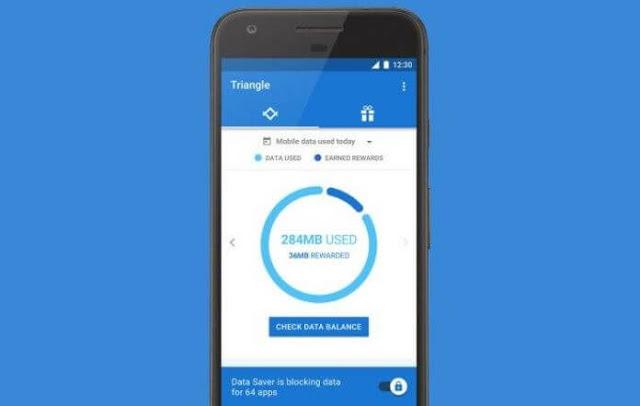 Triangle تطبيق جديد من جوجل لتقليل استهلاك الانترنت في هاتفك