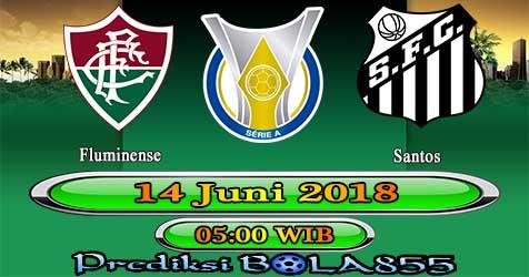 Prediksi Bola855 Fluminense vs Santos 14 Juni 2018
