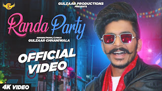 Randa Party Lyrics - Gulzar Chhaniwala