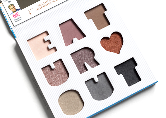 The Balm Appetit Eyeshadow Palette Review Photos