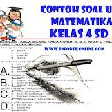 Contoh Soal Ujian Tengah Semester Ganjil UTS Matematika Kelas 4 Tahun 2019/2020