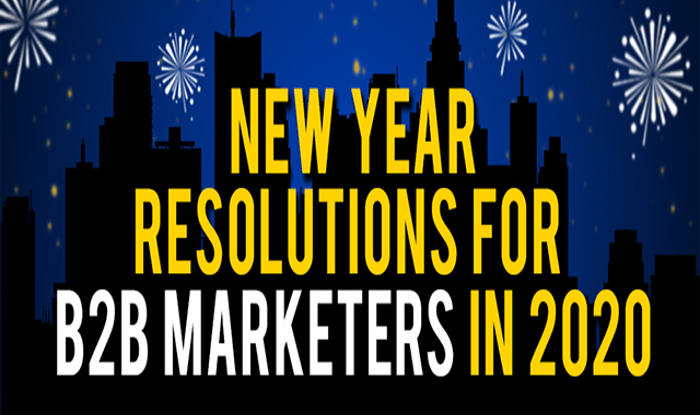 New Year Resolutions B2B Marketers Should Consider in 2020