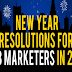 New Year Resolutions B2B Marketers Should Consider in 2020 #infographic