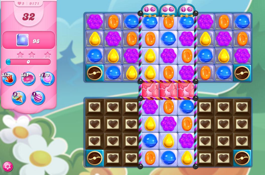 Candy Crush Saga level 9171