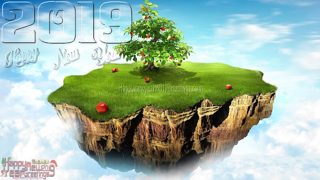 Happy New Year 2019 3D Wallpapers Download Free