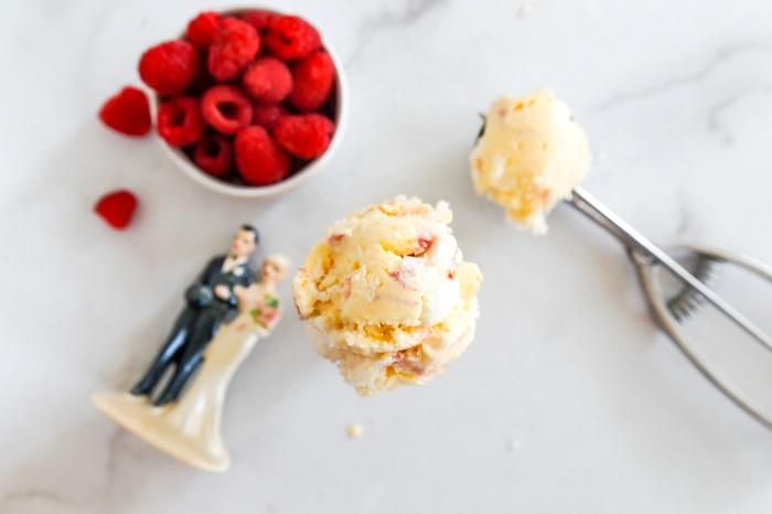 Bride's Cake Ice Cream recipe