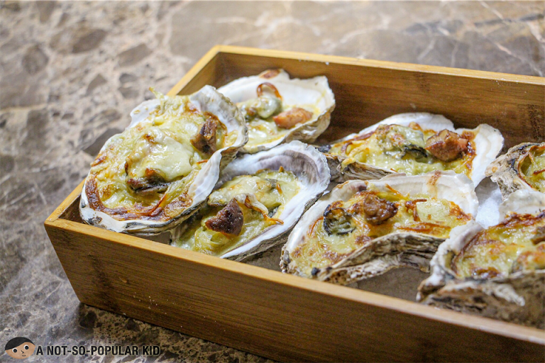 Baked Oyster with Foie Gras of Bistro Manuel
