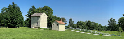 Water House and Bath @ Shaker Village, by V Sullivan