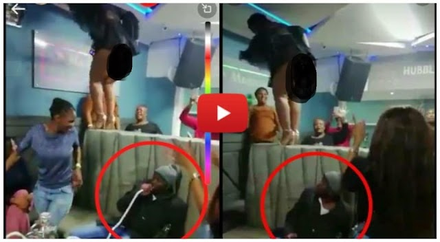 Zodwa Wabantu dance naked on a table showing punani for the first time at a club - Watch Video