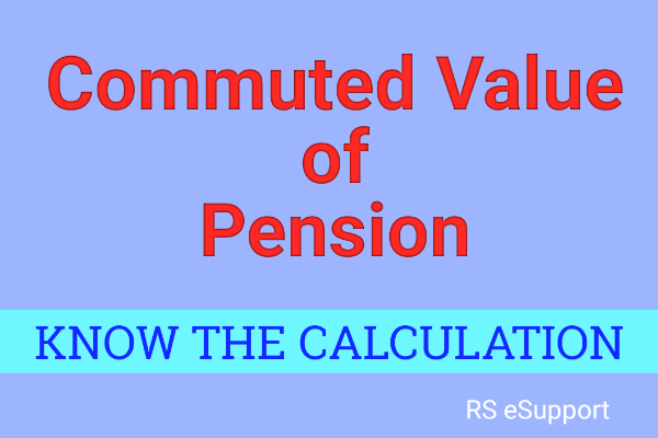 commuted value of pension
