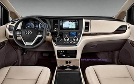 2018 Toyota Sienna Minivan Review