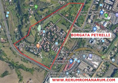 Mappa Borgata Petrelli Google Maps