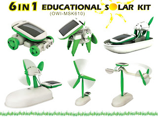 Solar Windmill – 6 in 1 Education DIY Solar Kits