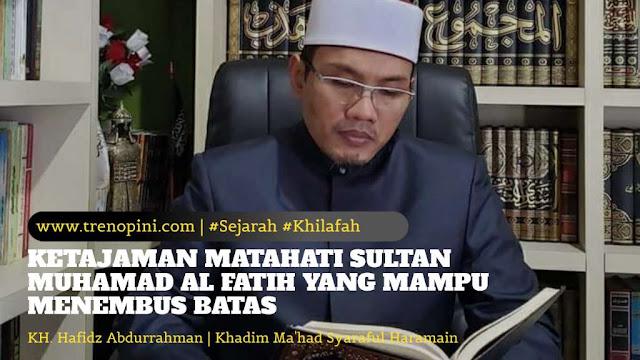 KH. Hafidz Abdurrahman | Khadim Ma'had Syaraful Haramain