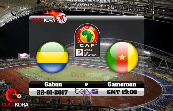 مشاهدة مباراة الكاميرون والجابون اليوم كأس أمم أفريقيا 22-1-2017 علي بي أن ماكس