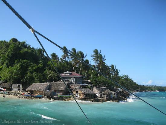 South end of Ticao Island, Bicolandia