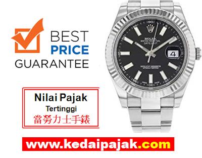 Pajak Rolex (Rolex Datejust Dipajak Dengan RM18,000) - kedaipajak