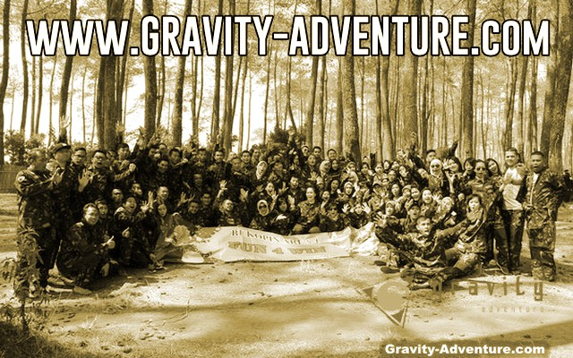 paket rafting paintball bandung gravity adventure