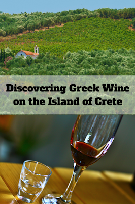 Discovering Greek wine on the island of Crete.