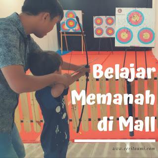 Memanah di Mall