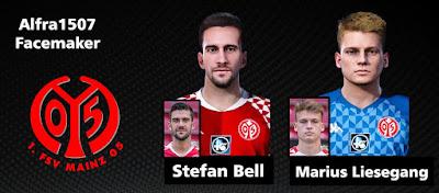 PES 2021 Faces Stefan Bell & Marius Liesegang by Alfra1507